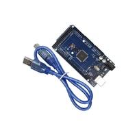 Smart Electronics 10Pcs Mega 2560 R3 ATmega16U2 Development Board USB Cable Diy Kit For Arduino ATmega2560