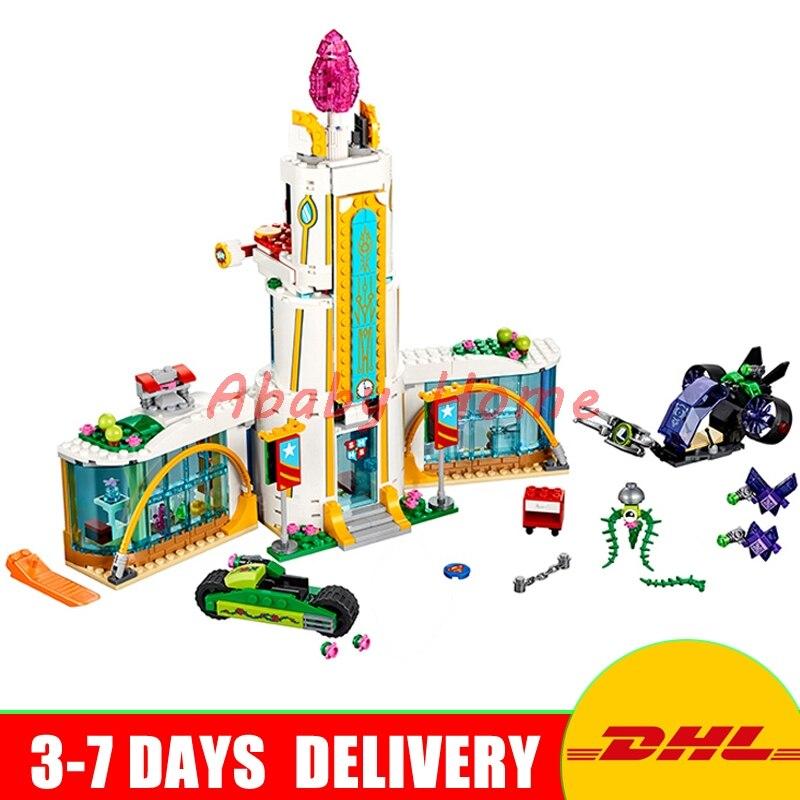 DHL Lepin 29001 712Pcs Girl Series The Super Hero High School Set Educational Building Blocks Bricks Toys Model Clone 41232 29001 paulmann