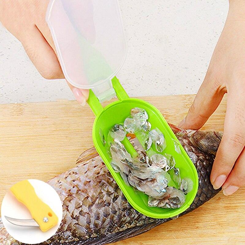 Schaben Skala Töten Fisch Mit Messer Maschine Kreative Mehrzweck Roman Liefern Küche Garten Kochwerkzeug Sauber Bequem