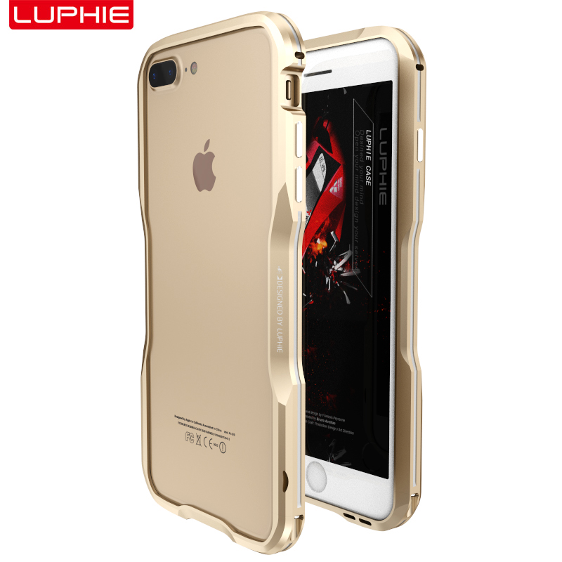 For iPhone 7 7 Plus Original Luphie Accessory High Quality Glossy ...