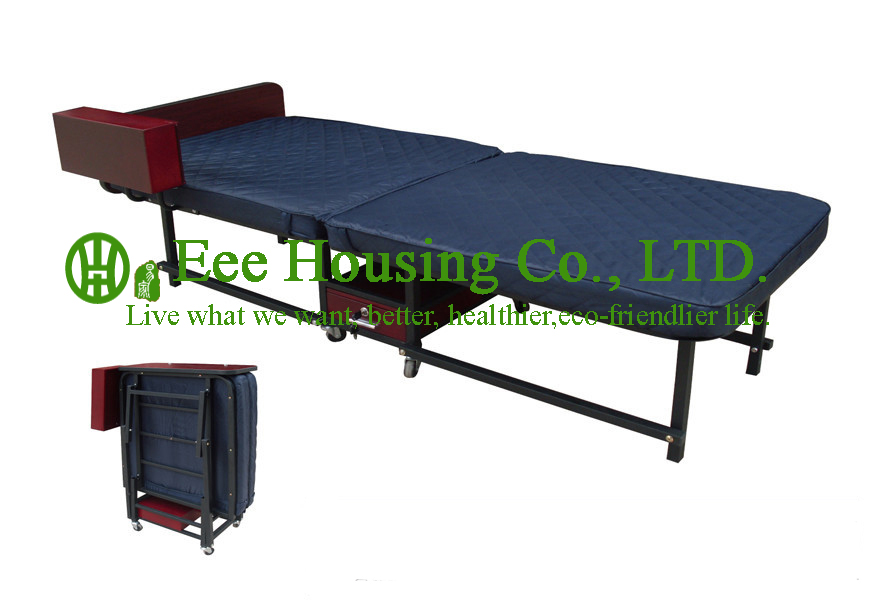 2016 Hot Sale Factory Price Hotel Extra Folding Bed,10cm Sponge Rollaway Beds For Guest Room Roll Away Folding Extra Bed