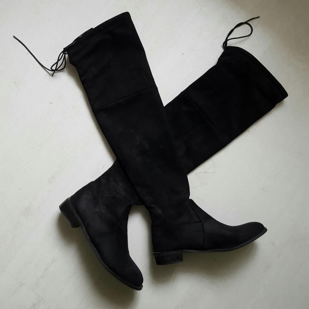 Zapatos Nieve brown grey Invierno De Botas Cálido Mujeres Bajo red black Sobre Estiramiento Tacón red Aiweiyi La Rodilla Grey Plataforma Pieles Telas Animales qa68w1xR