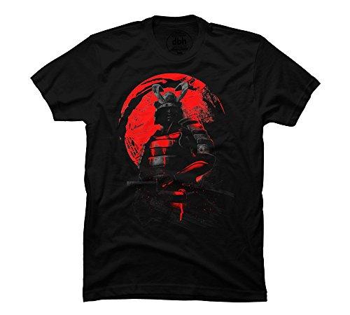 2017 fashion Samurai Warrior Mens Graphic T Shirt 100% cotton male O-Neck T Shirt Casual short tops tee