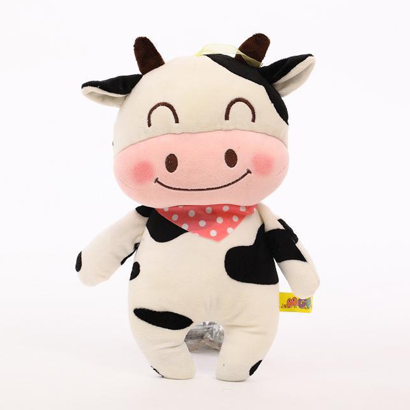 Hot Popular Animals Plush Toy Cow Bear Chicken Rabbit Frog Stuffed Plush Toy For Baby Children Child Kid Girl Boy Gift Present