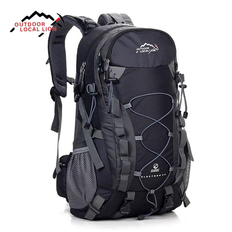 LOCAL LION 40L Travel Bag Men Outdoor Waterproof Backpacks Women Back Pack Camping Hiking Climbing Rucksack backpack tourist