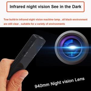 Image 3 - Camera Mini Pen Cam 1080P Infrared Light Night Vision Camcorder Recording DVR DV Audio Video Record Micro 800mah Small
