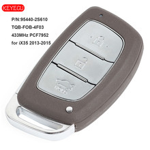 KEYECU Smart Remote Car Key Fob 3 Button 433MHz PCF7945 Chip for Hyundai IX35 2015+ FCC ID: 95440-2S610