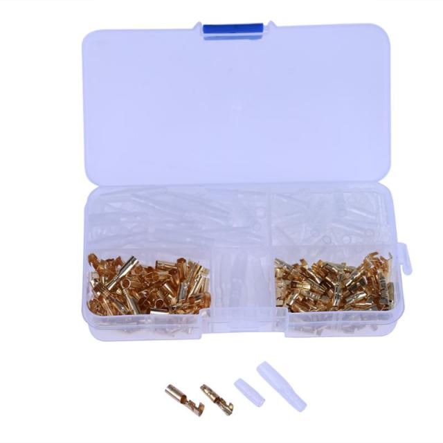 240pcs 3.5mm Male and Female Terminal and Terminal Case Car ...