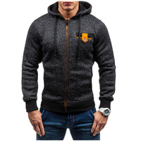 Hoodies Men 2017 Brand Male Hoodie Sweatshirt Mens Zipper Moletom Masculino Hoodies Slim Tracksuit Large Size