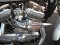 Motocicleta Filtro de Aire Spike Limpiador Kits Para Evo Xl Sportster Harley S & S Cv Personalizado CROMADO