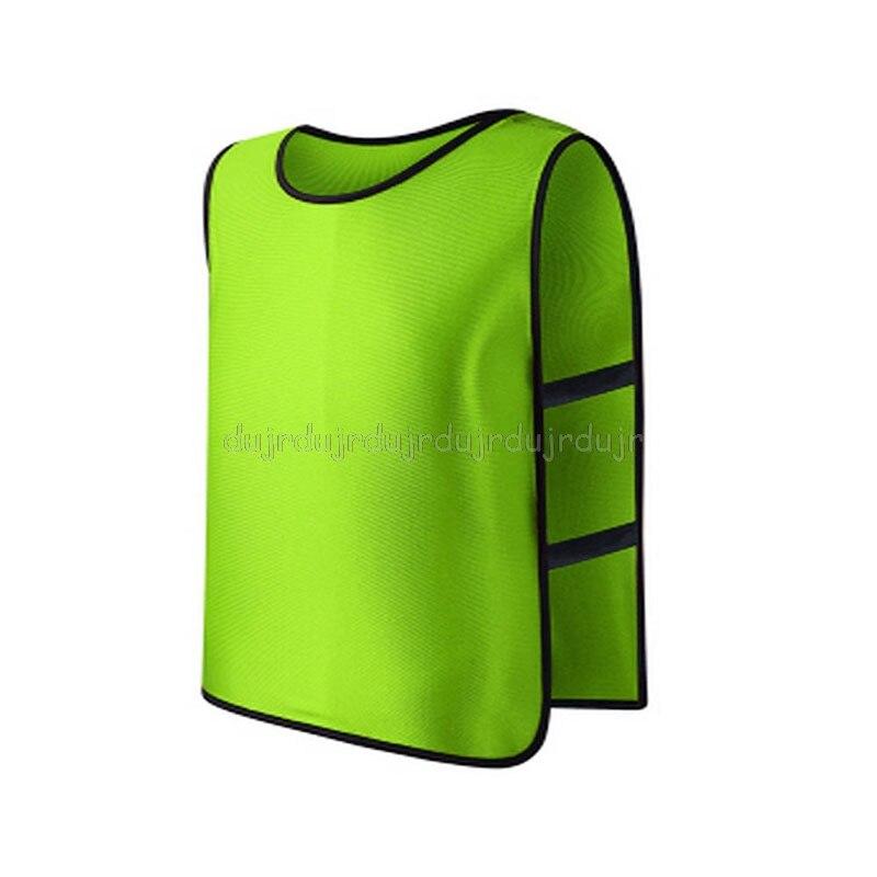 Children Kid Team Sports Football Soccer Training Pinnies Jerseys Train Bib Vest N06 Dropship