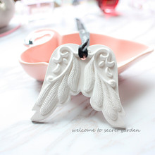 3D Angle wings decorating fondant cake molds Aroma stone mold DIY handmade silica gel mold