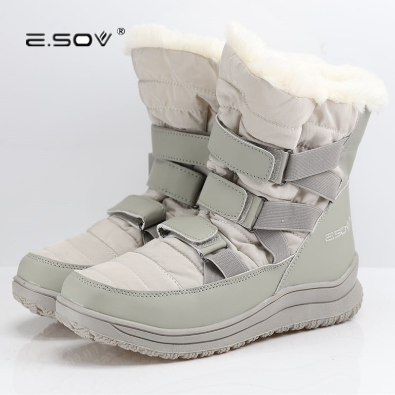 Real Photo High Quality Warm Ankle Women