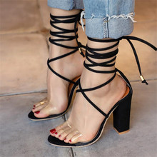 New high-heeled straps with large size womens sandals wedges shoes for women sexy fashion high heels