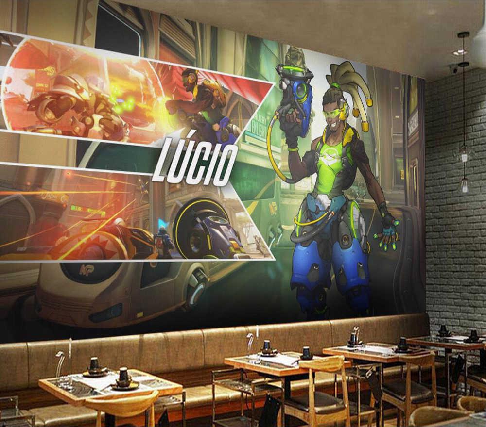 ورق حائط للزينة Overwatch Lucio حائط الخلفية اللوحة