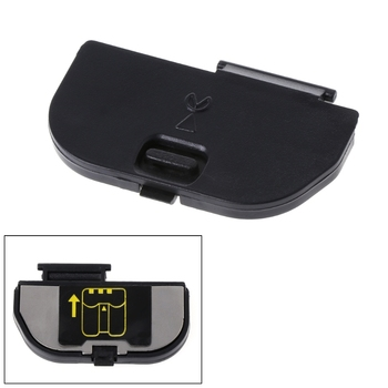 Crust Pro New Battery Door Lid Cover Case For Nikon D50 D70 D80 D90 Digital Camera Repair Part Black image