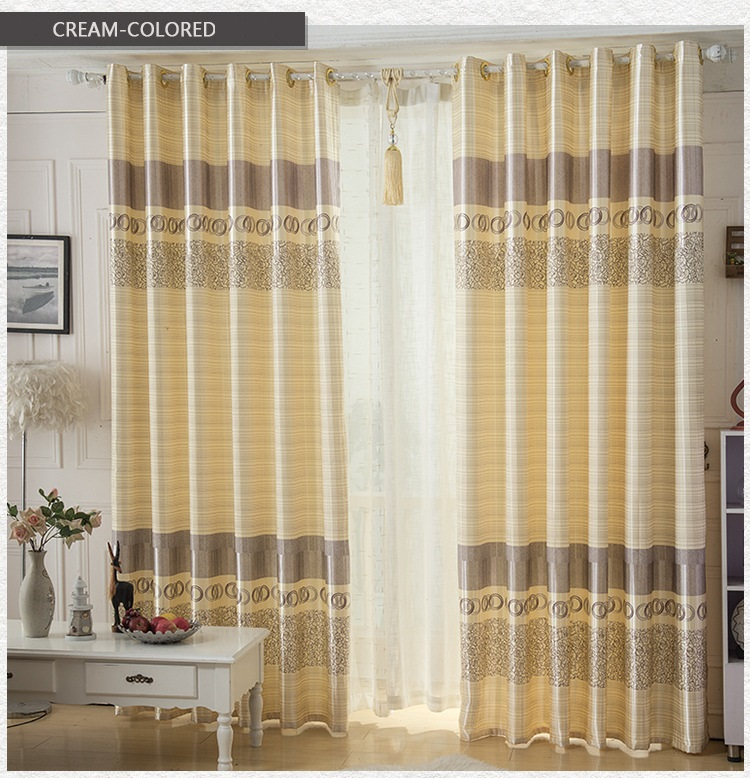 Elegant Minimalist Style Curtains Finished Suitable For Living Room Bedroom High End In From Home Garden On Aliexpress