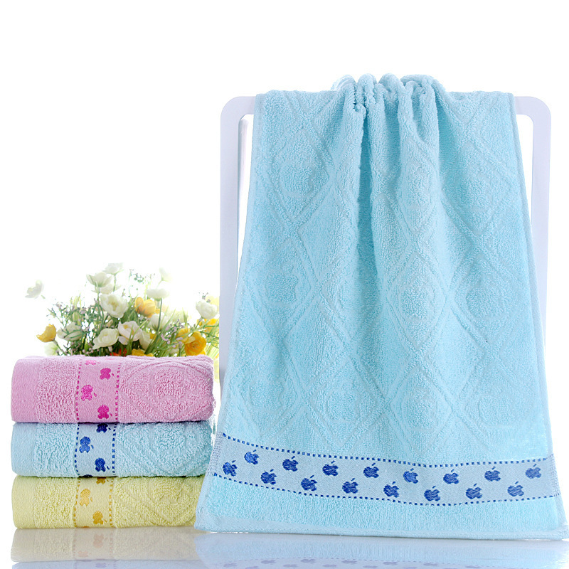 Image 4 - High quality cotton towel, thickening daily necessities, face towel, promotional gifts, gift towels, wholesale  custom made logo-in Storage Bags from Home & Garden