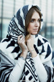 2016 New Arrival Luxry Brand Thicken Vintage Geometric za Winter Scarf Ethnic Stole Kerchief For Woman Fashion Ponchos And Capes