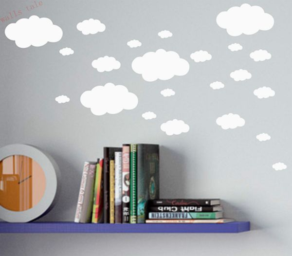 Mini Clouds wall sticker for kids room-Free Shipping For Kids Rooms
