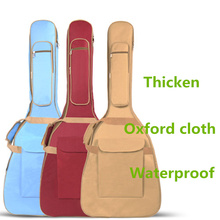 Waterproof 10mm Thicken 40 41 Steel-String Guitar Bag Case Backpack More Color Guitarra Bass Accessories Parts Carry Gig