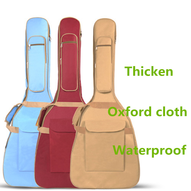 Waterproof 10mm Thicken 40 41 Steel String Guitar Bag Case Backpack More Color Guitarra Bass Accessories Parts Carry Gig