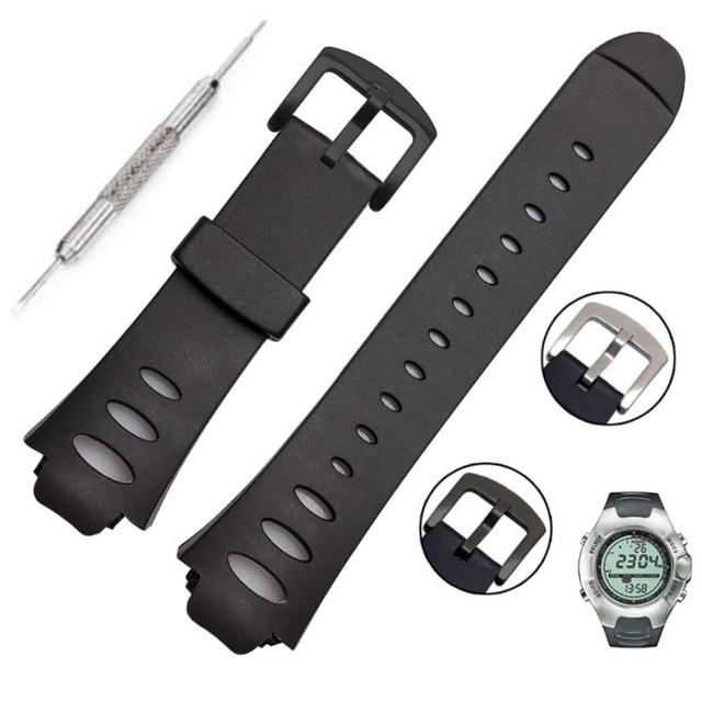 Rubber Horloge Band Vervanging Watch Band Strap SS0S4723000 Voor SUUNTO WAARNEMER SR X6HRM 15J Drop Shipping