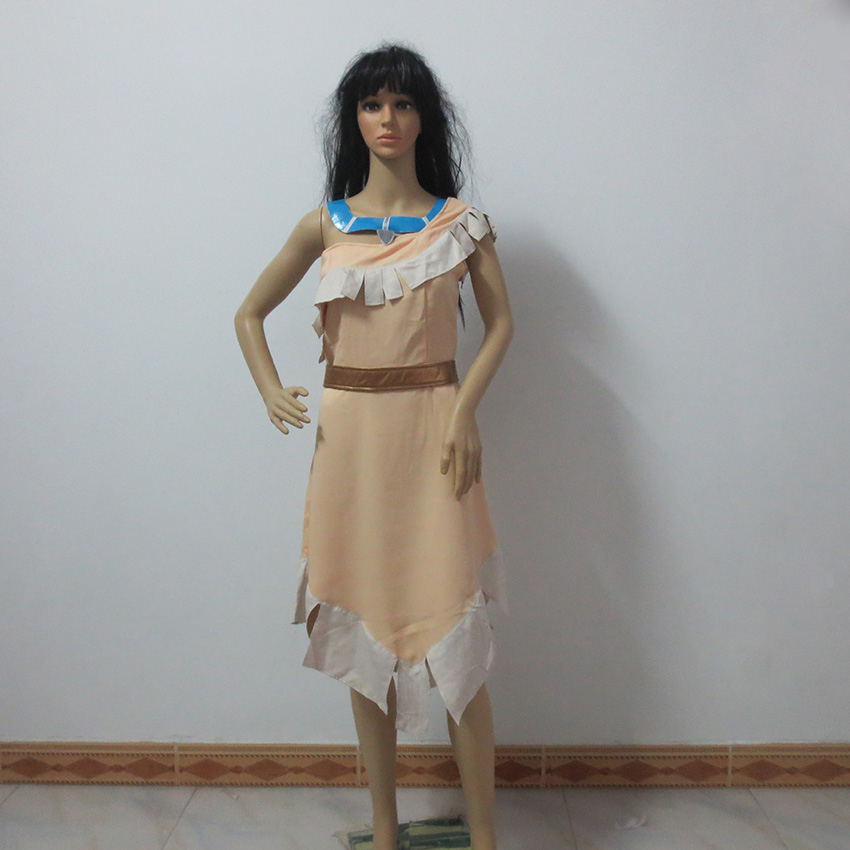 Fancy Dress Costumes Wild West Pocahontas Indian Cosplay ...