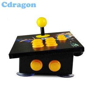 Cdragon аркадная палка USB Rocker, аркадный джойстик, ПК, компьютерная игра, ручка, наклонная деревянная поверхность для ретро боевой игры