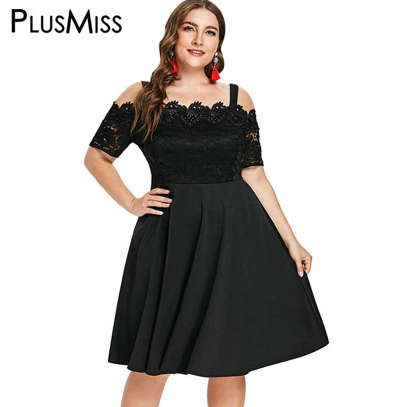 b0c917f993ada Detail Feedback Questions about PlusMiss Plus Size Sexy Off Shoulder ...