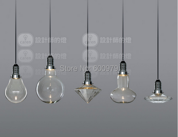modern creative glass pendant lights crystal pendant lamp. Black Bedroom Furniture Sets. Home Design Ideas