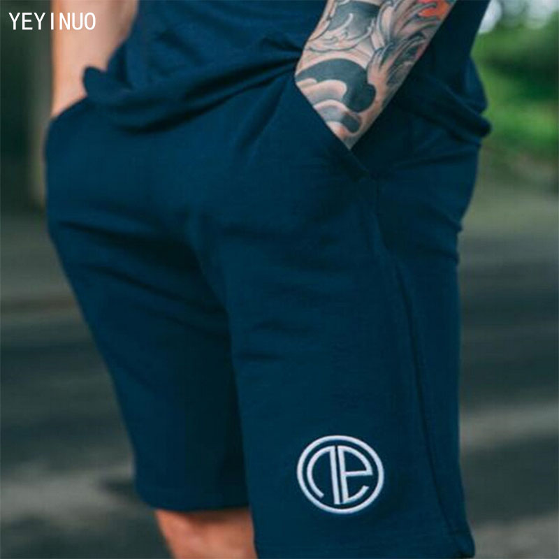 YEYINUO Mens leisure brand cotton in summer than knee length shorts 4 size can choose me ...