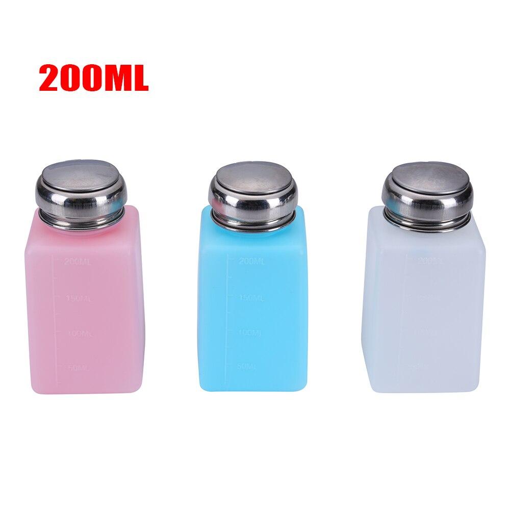 200ML Plastic Press Alcohol Bottle Container Empty Pump Liquid Bottle For Repair Tools Mobile Phones Gereedschap Outillage