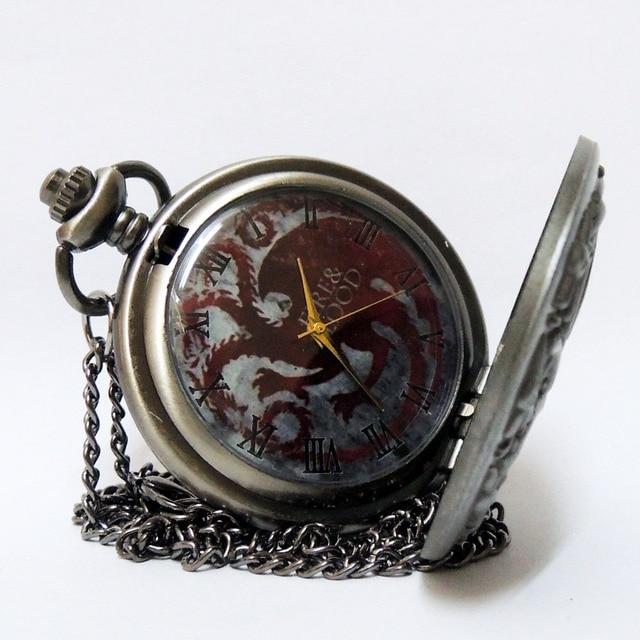Карманные часы Игра престолов Таргариены 3