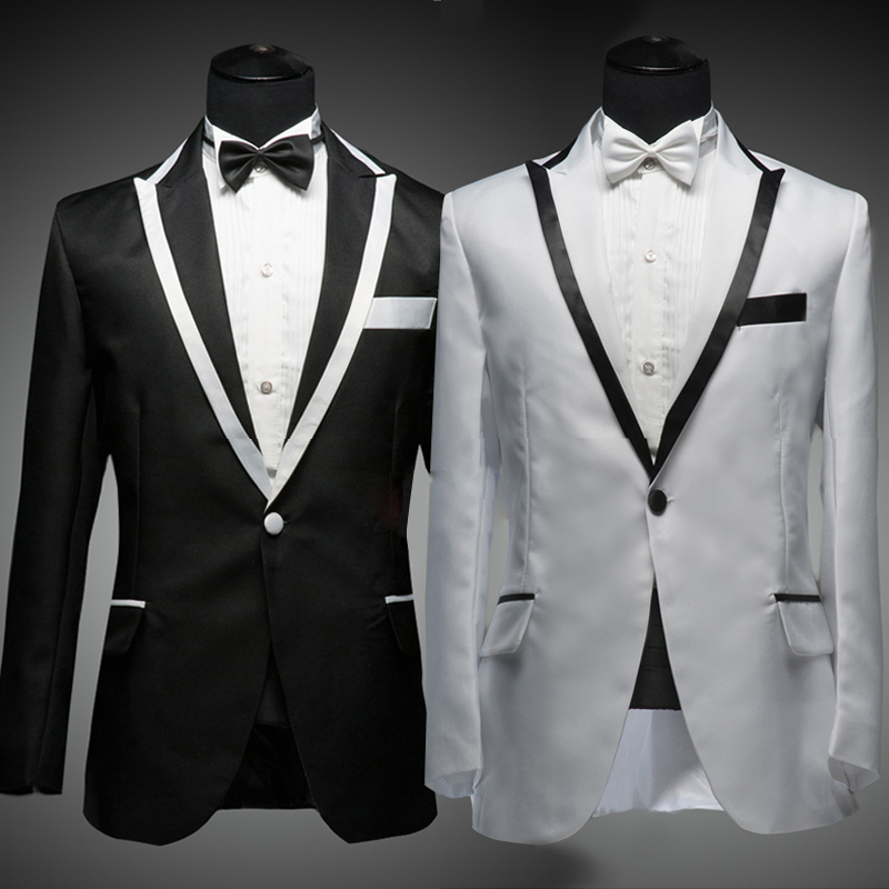 Black And White Vest Men