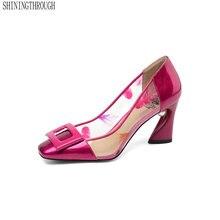 b7238d66b معرض square heel shoes بسعر الجملة - اشتري قطع square heel shoes بسعر رخيص  على Aliexpress.com