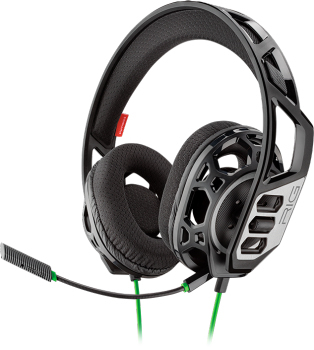 Plantronics RIG 300 HX, Game console, Binaural, Head-band, Black, Wired, 1.3 m