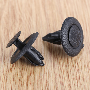 цена на 50Pcs Auto Fastener Car Trunk Ceiling Fixed Clamp Push Type Interior Clip Fit For Mazda 323 Family HAPPIN M3 M6 B70 B50