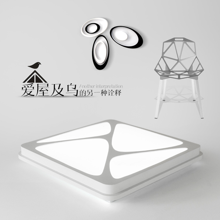 Modern Ceiling Lights Surface mounted Lamps Modern living light Plafon lamp verlichting plafond LED Ceiling Lamps Home Lighting noosion modern led ceiling lamp for bedroom room black and white color with crystal plafon techo iluminacion lustre de plafond