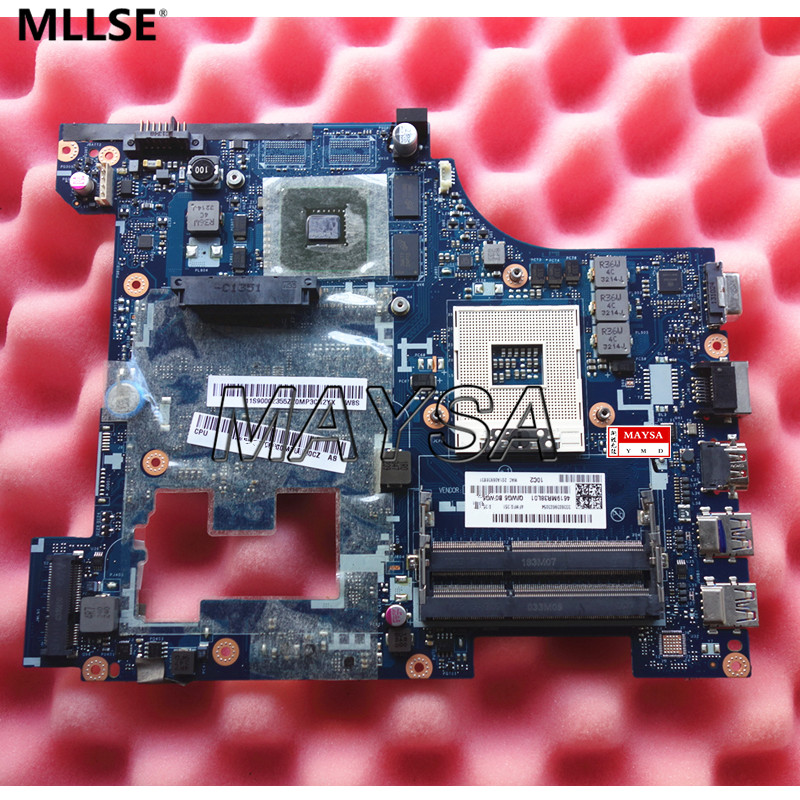 QIWG6 LA-7988P Fit for Lenovo G580 Laptop motherboard FRU:90002355 HM76 PGA989 DDR3 100% Fully Tested 7xinbox 15 2v 50wh laptop battery for lenovo asm p n sb10f46441 fru p n oohw003 4icp5 58 73 2