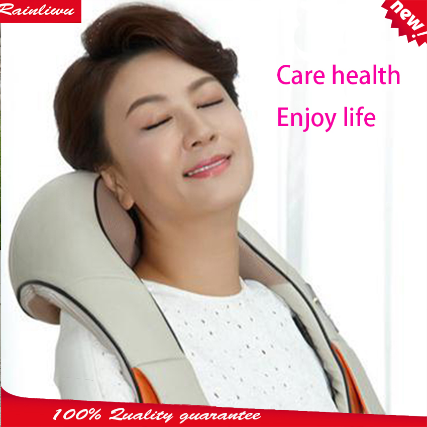 Massage shawl Kneading massage cape Red-light heating therapy Body massage device car home massage instrument home health care instrument chinese body massage device neck massager red light heating kneading massage shawl 120804