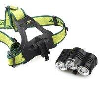 Dual Use T6 Aluminum Alloy LED Flashlight Headlight LED Front Head Light Headlamp for Outdoor Hunting Fishing Cycling