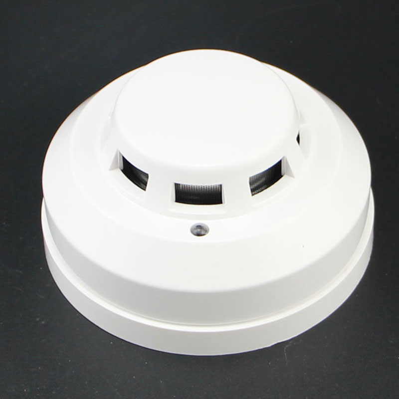 Wired Networking Sensor Smoke Detector For Sale/Optical Host Components Smoke Detector Alarm For Gsm Alarm System  XJ66
