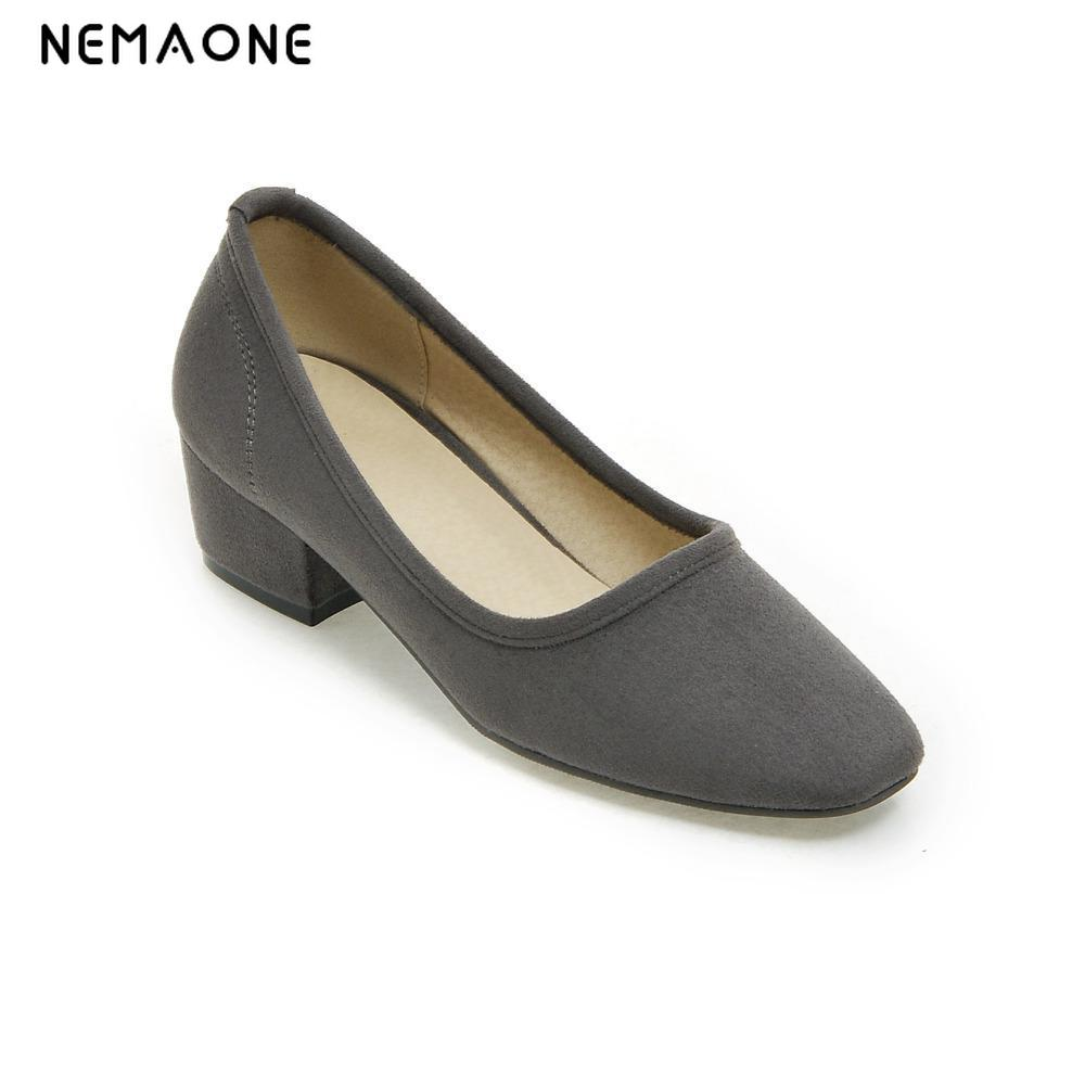 Free shipping 2016 new spring autumn casual high-heeled shoes sexy thick heels pumps Black and blue 2016 spring and summer free shipping red new fashion design shoes african women print rt 3