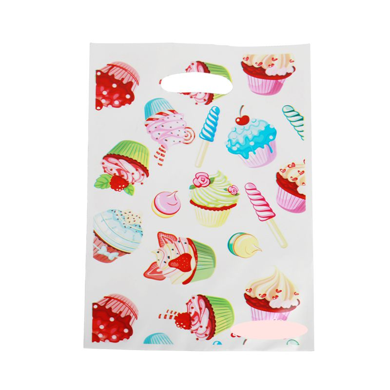 40pcs/lot Dessert macaron Gift Gag for Party Supplies Kids shower Happy Birthday Candy Bags Loot Bag Decoration