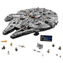 8445 pcs Star Wars Destroyer Millennium Falcon Modèle Briques Blocs Compatible legoings 75192 05132 Jouets Éducatifs Cadeaux