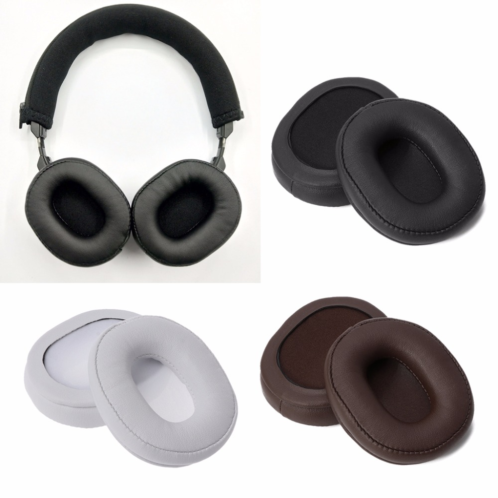 Consumer Electronics Impartial Replace Foam Ear Pads Cushions For Ath-sr5 Sr5bt Msr5 Headphones Protein Leather Earpads F17 19 Dropship Consumers First