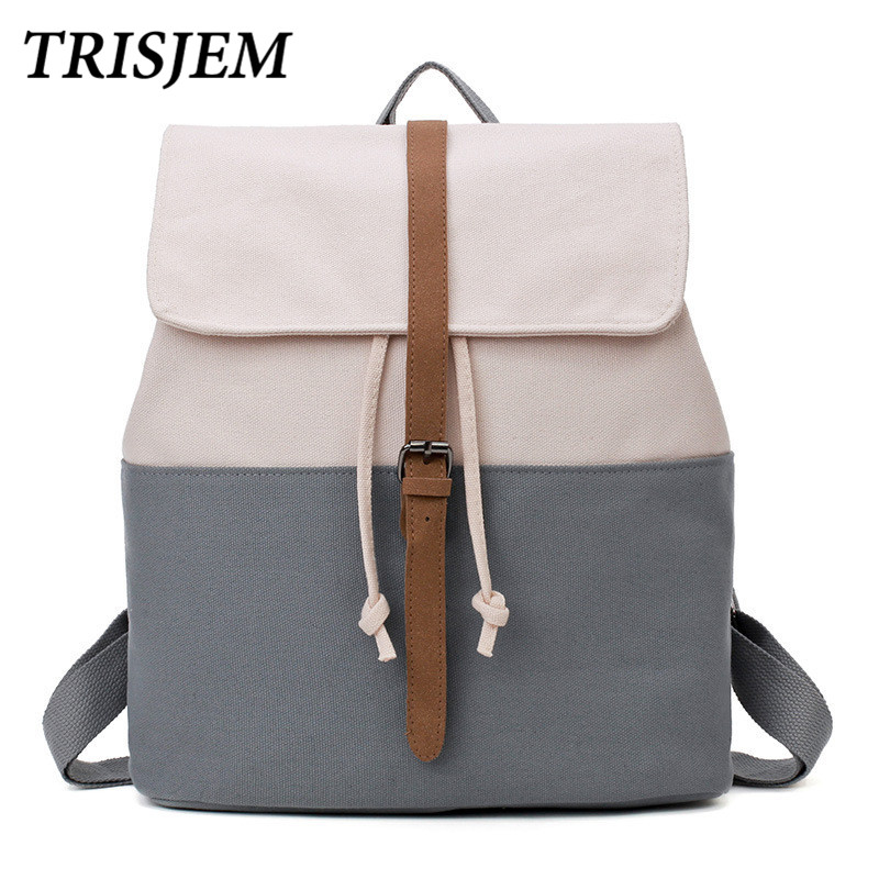 Canvas Backpack Drawstring Bag Sack Bagpack Backpack Girls Backpacks For Teenage Girls Sac A Dos 2018