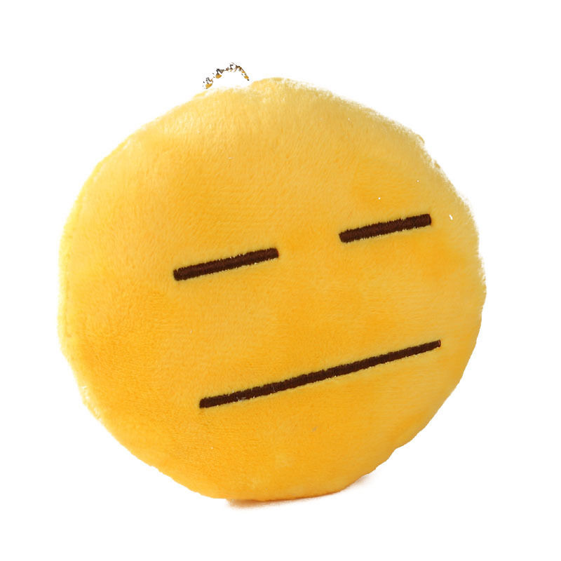Cute Yellow Emoji Emoticon Cushion Stuffed Plush Toy Pendant Helpless Toys Birthday Gifts For Children Funny In Gags Practical Jokes From