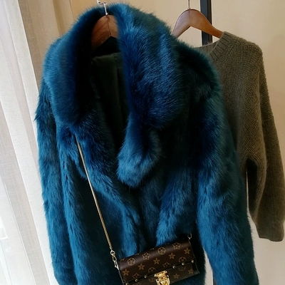2019 New Style High-end Fashion Women Faux Fur Coat S73